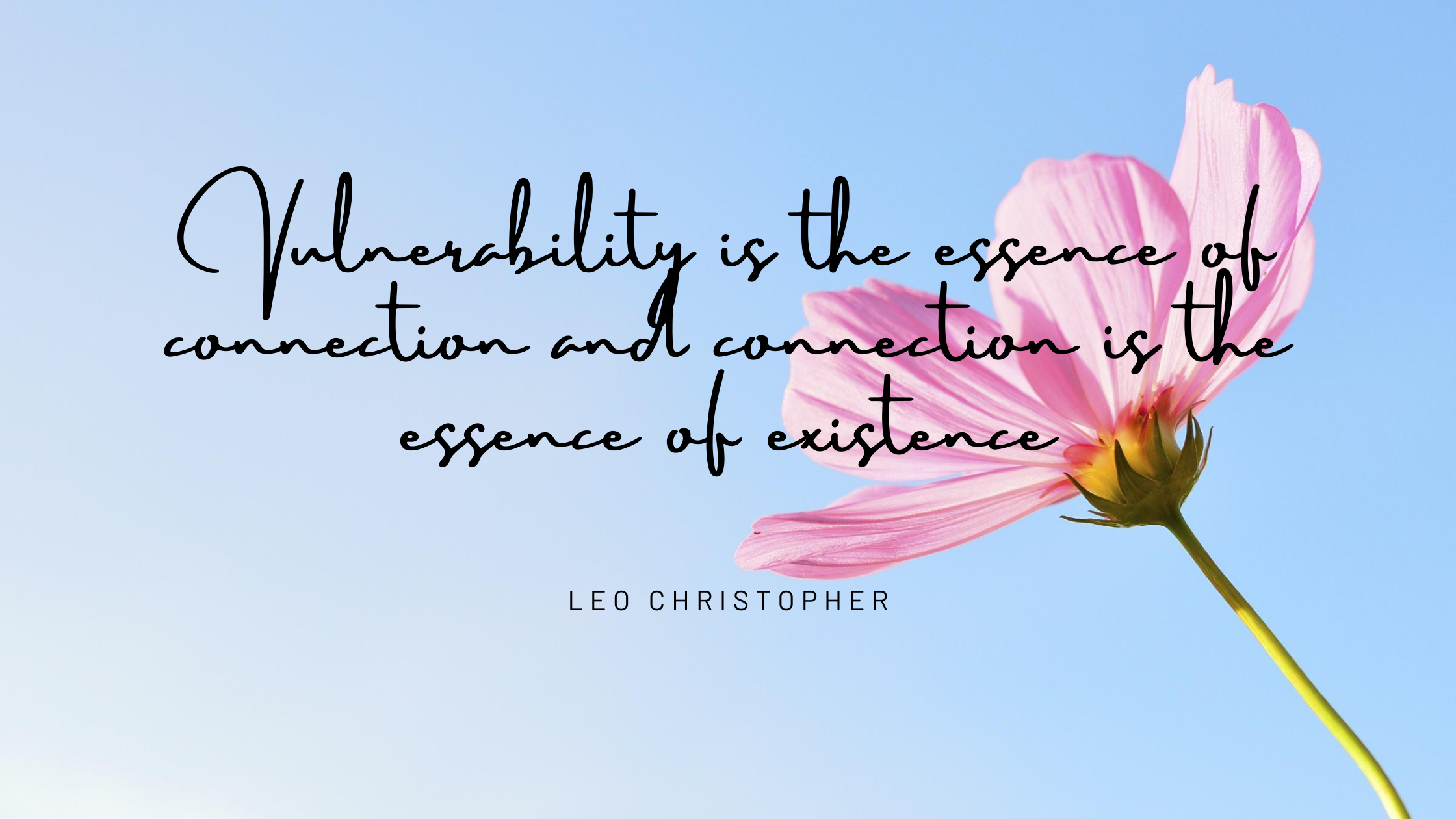 Quote about Vulnerability by Leo Christopher